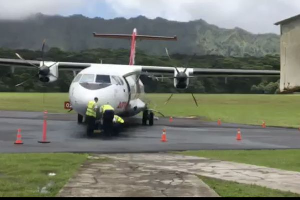 Panne Air Tahiti