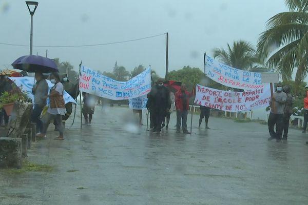 Lifou : une manifestation contre l'obligation vaccinale