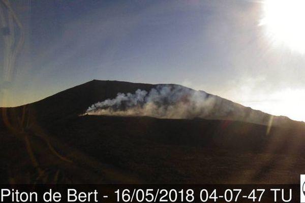 Eruption 16 mai 2018