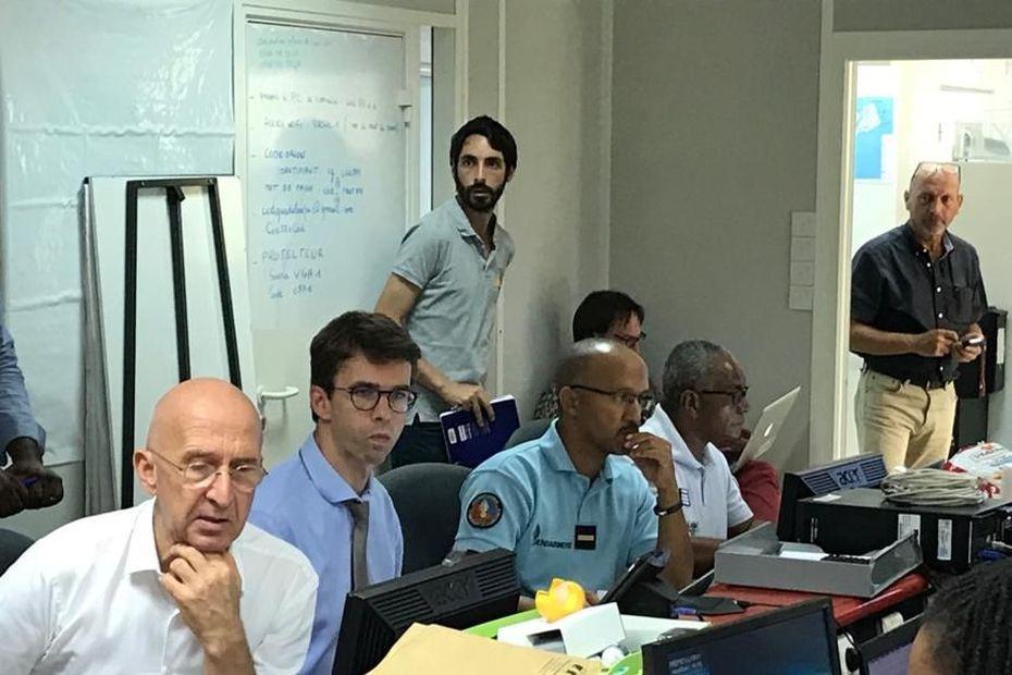 """Exercice grandeur nature pour la seconde journée """"japonaise"""" sur les risques telluriques - Guadeloupe la 1ère"""