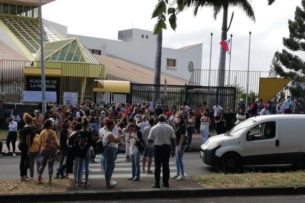 Manifestants des étudiants de BAC PRO et de CAP