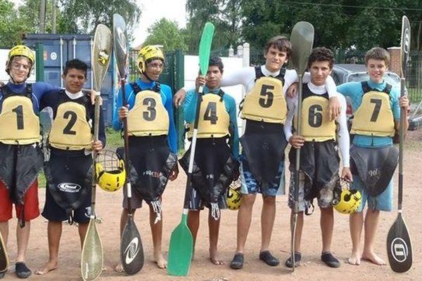 L'équipe de Guyane de Kayak