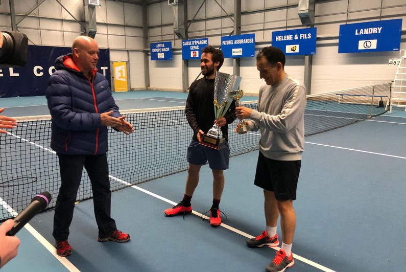 Damien Pognon remporte le Master SPM la 1ère de tennis