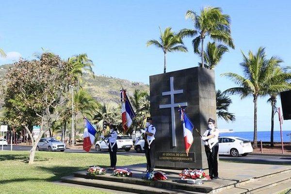 Commémoration appel du 18 juin de Gaulle Saint-Denis 180620