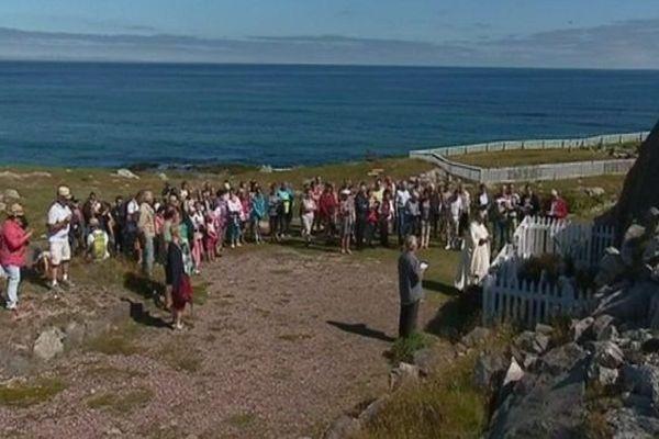 Procession du 15 août sur l'Île aux marins