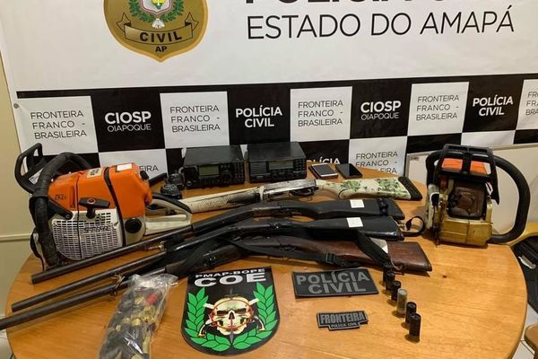 Oiapoque : un chef de gang interpellé à Vila Brasil