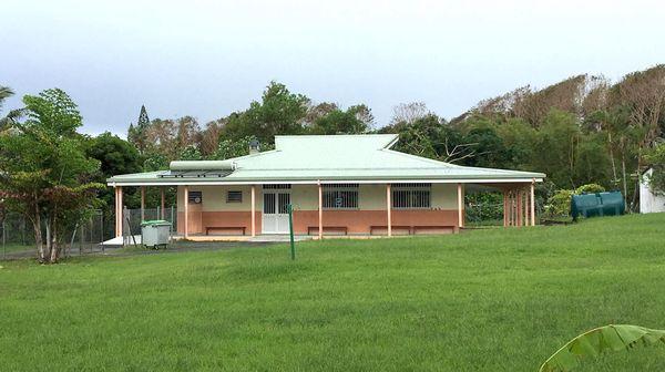 Cantine de l'école de Bayes, à Poindimié, 16 avril 2021