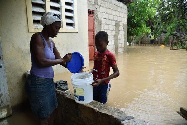 Leogane Haiti passage de Matthew - priorité à l'eau potable