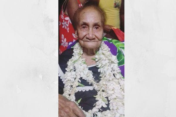 À Raiatea, la doyenne Teura Hioe fête ses 101 ans