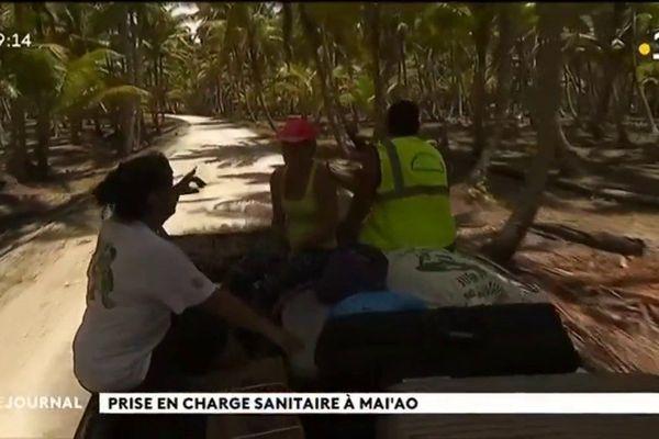 Prise en charge sanitaire à Maiao