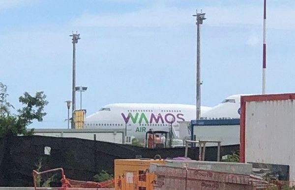 French bee affrette un avion Wamos Air 120519