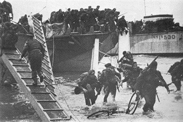 Le Débarquement du Commando Kieffer