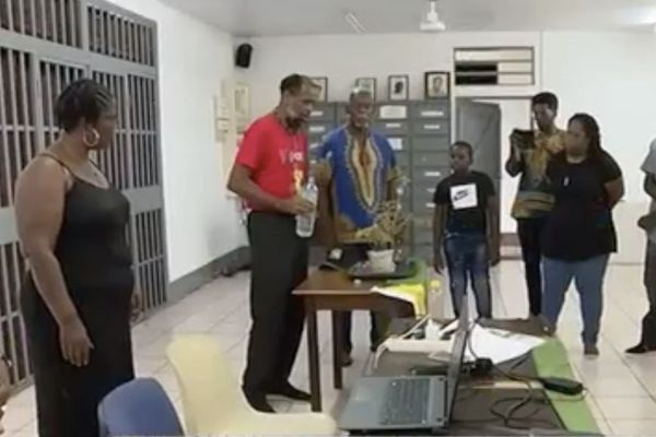 Cayenne : le Komité drapeau honore les ancêtres africains