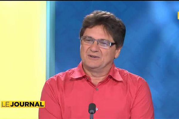 Le P-d.g d'Air Tahiti Nui, Michel Monvoisin était l'invité du journal
