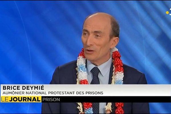 Brice Deymié, aumônier de prison