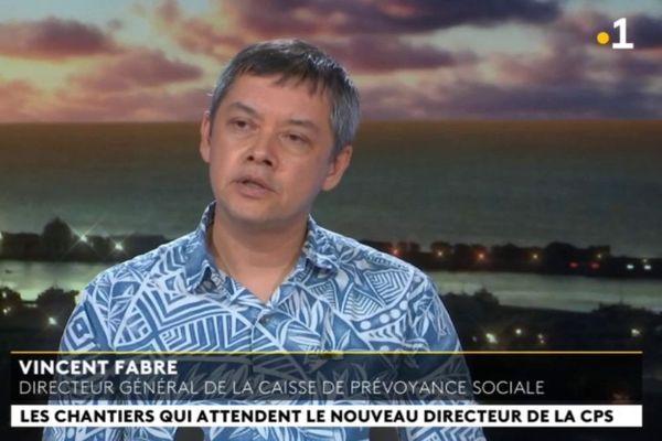 Invité du journal : Vincent Fabre, directeur général de la CPS