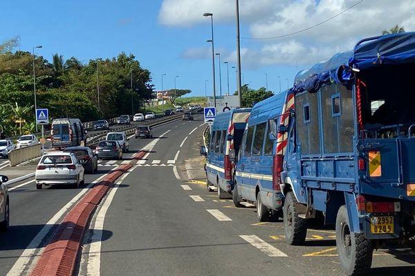 Fin de mobilisation des parents d'élèves à îlet Pérou Capesterre-Belle-Eau 05/03/2021