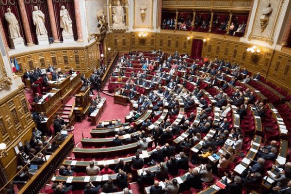 L'hémicycle du palais du Luxembourg