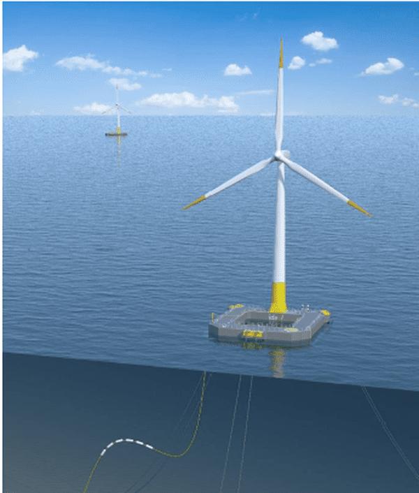 Floatgen, la première éolienne flottante en mer française