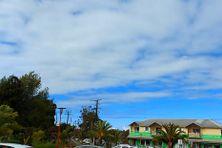 Le ciel bleu devient rare au fil des heures, ce mardi 12 octobre 2021. Les nuages et la pluie se généralisent dans l'après-midi