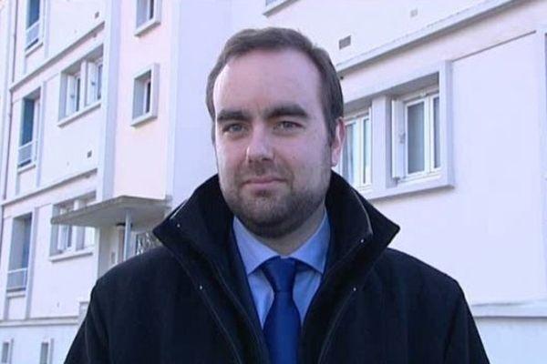Sébastien Lecornu, secrétaire d'Etat près du ministre à la transition écologique et solidaire