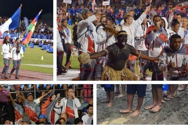 Samoa 2019, ouverture des Jeux, 6 juillet 2019