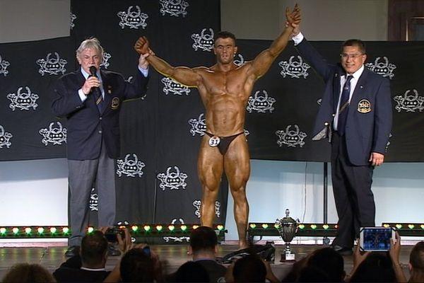 Championnat du Pacifique sud de bodybuilding vainqueur
