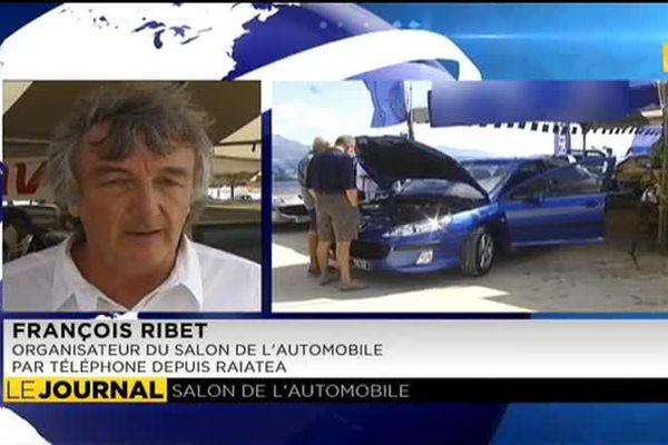 Ouverture du salon de l'auto à Raiatea