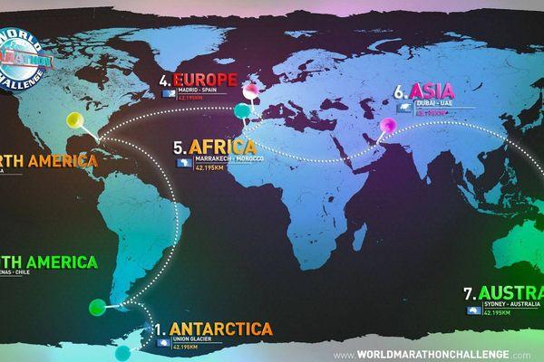 7 continents en 7 jours