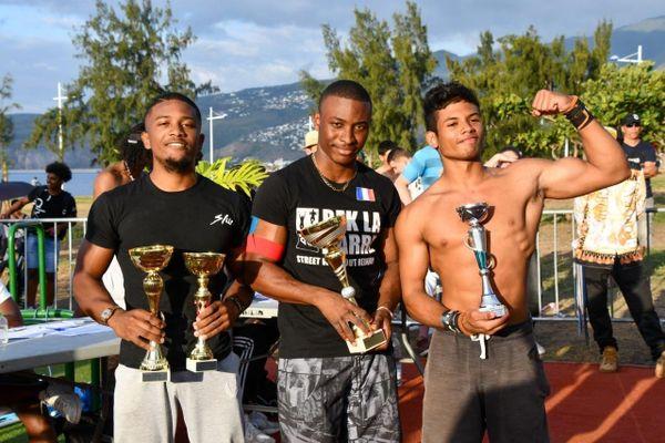 Les gagnants réunionnais des qualifications de street workout 2020
