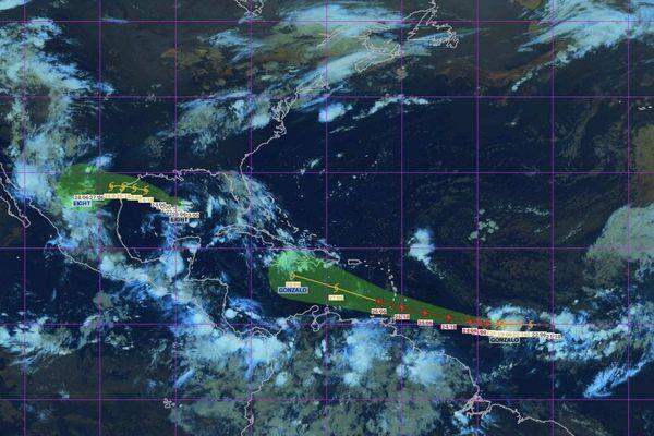 Tempête tropicale Gonzalo (23 juillet 2020 avant midi)