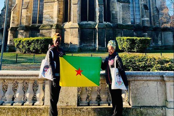 Fatou et Amadéa au championnat de France