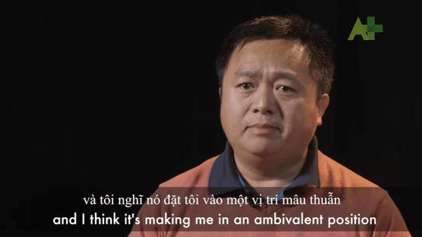 Le docteur Cuong La. Photo extraite de la vidéo réalisée par d'Australia Plus, ABC