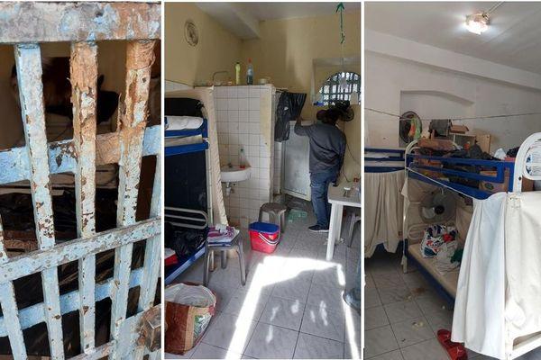 cellule prison - maison d'arrêt de Basse-Terre