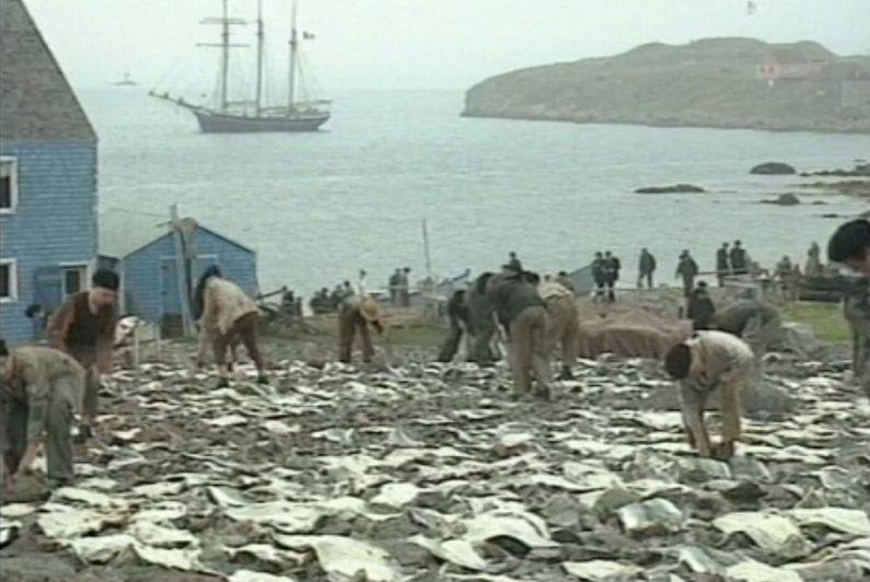 """""""Entre Terre et Mer"""", une série qui avait redonné vie à l'île aux Marins"""