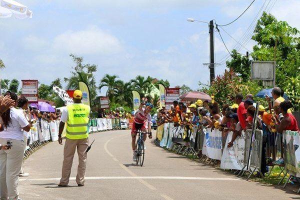 Rutger Roelandts vainqueur de a seconde étape Cayenne/Roura