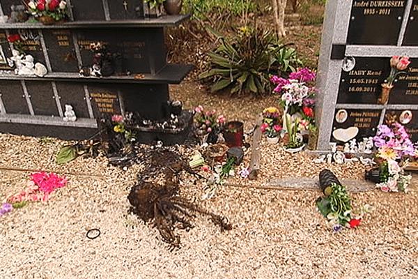 dégradations cimetières NC