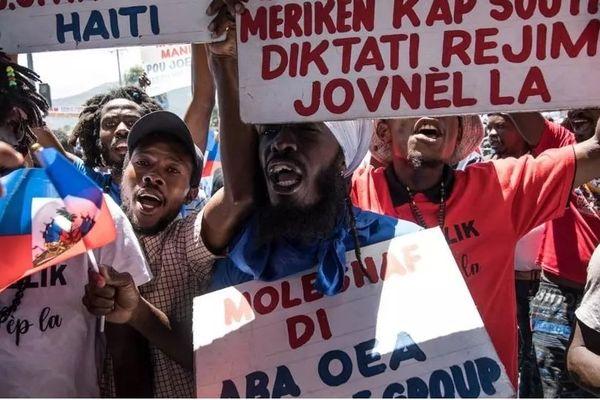 manifestation Haiti