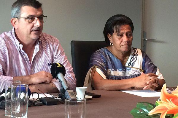 Conférence de presse blocage des négociations dans le conflit des cliniques, 27 juin 2018
