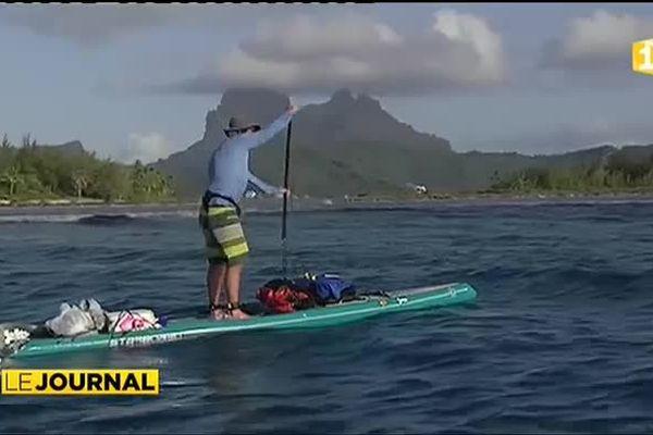 Tahiti - Bora Bora : 280 km à la force du poignet