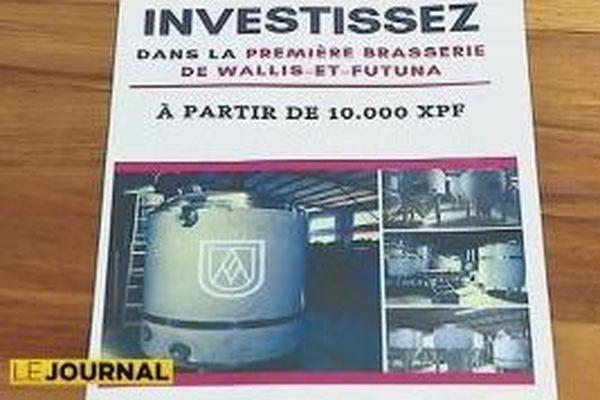 Projet de brasserie de Wallis et Futuna en 2020