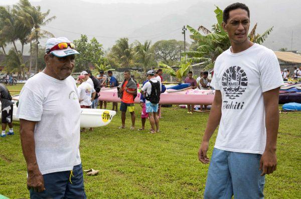 Tavi Pirifonia est le doyen de cette Hawaiki Nui 2015 2