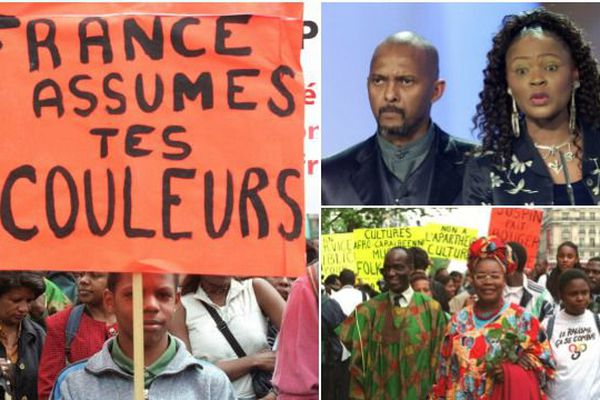 Manifestation nationale pour le peuple noir 20 mai 2000