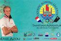 Deux champions d'aviron à l'Hawaiki Nui Va'a