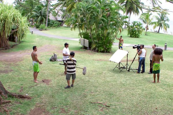 Tournage Mister Tahiti 2