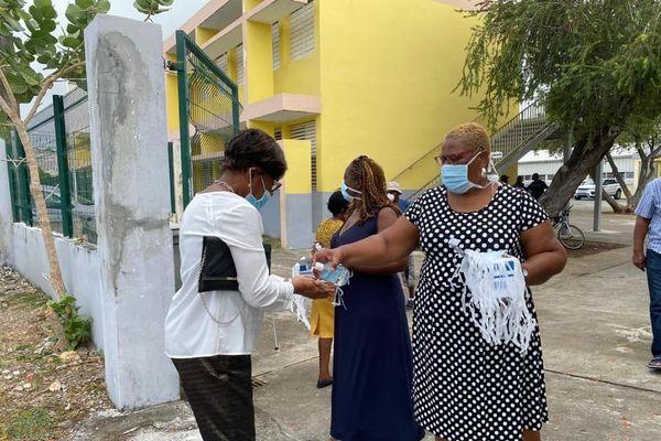 Mesures sanitaires pour élections