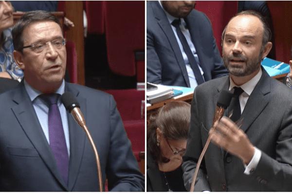 Philippe Gomes et Edouard Philippe