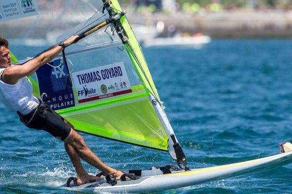 Thomas Goyard 5e de la compétition