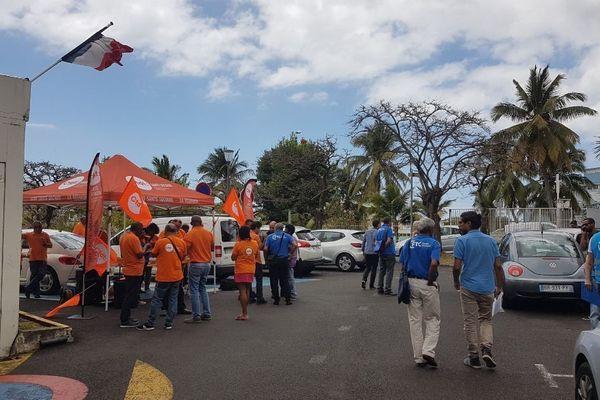 L'intersyndicale de la fonction publique hospitalière sera mobilisée ce mercredi matin devant les hôpitaux de La Réunion.