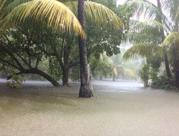 Inondations à Rangiroa